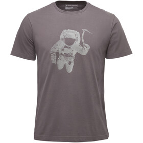 Black Diamond Spaceshot T-shirt manches courtes Homme, slate